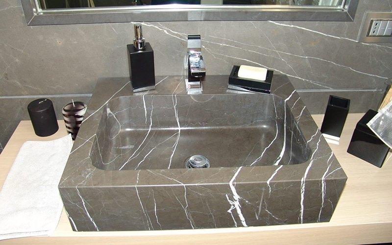 lavandino bagno marmo