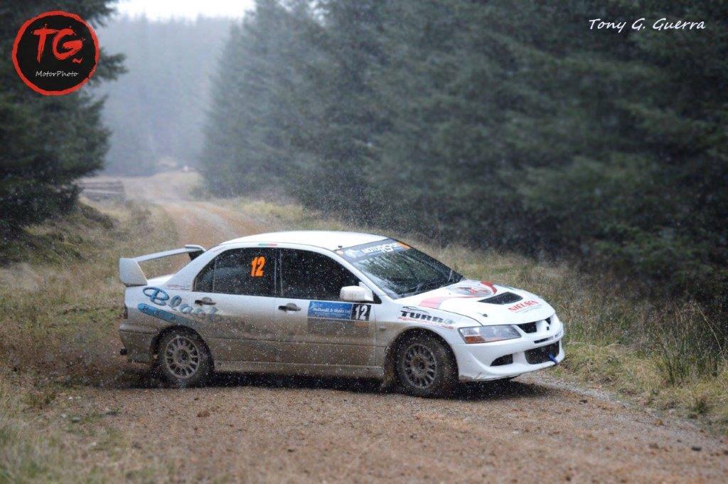 Andrew Gallacher Evo Rally Car