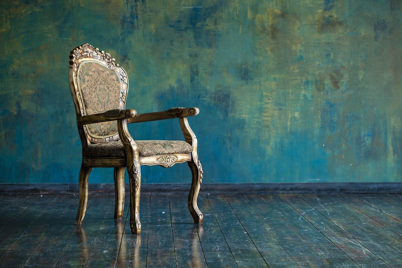sedia stile barocco