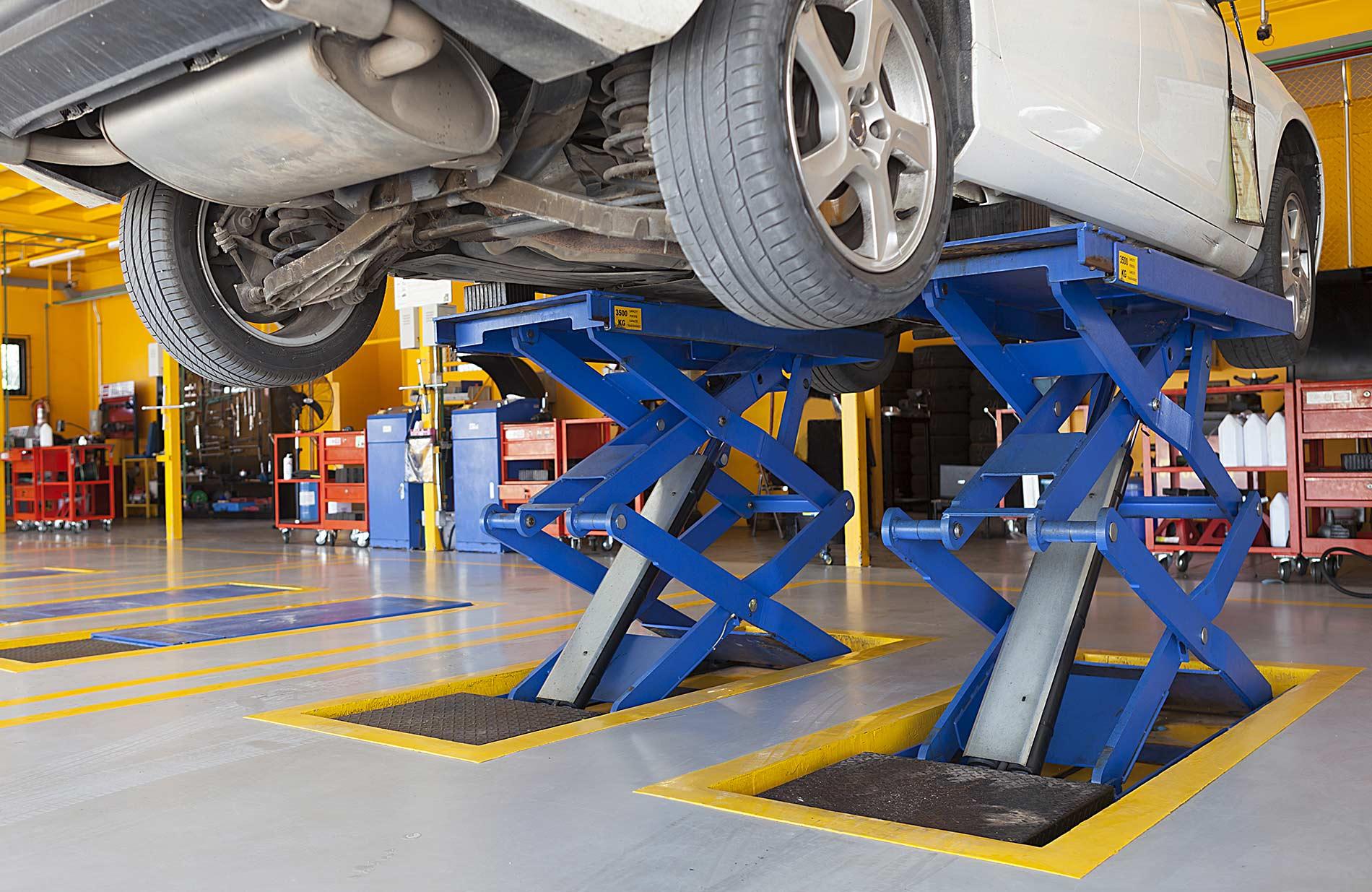 Ponti sollevatori que riduce i tempi di attesa e aumentando il coefficiente di sicurezza.