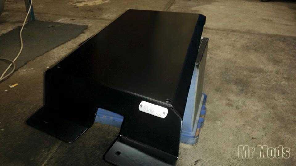 Transfer case & bash plate