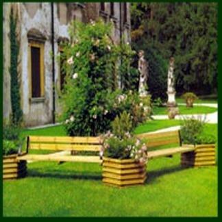 Arredo giardino lavorazione del legno treviso for Arredo giardino treviso