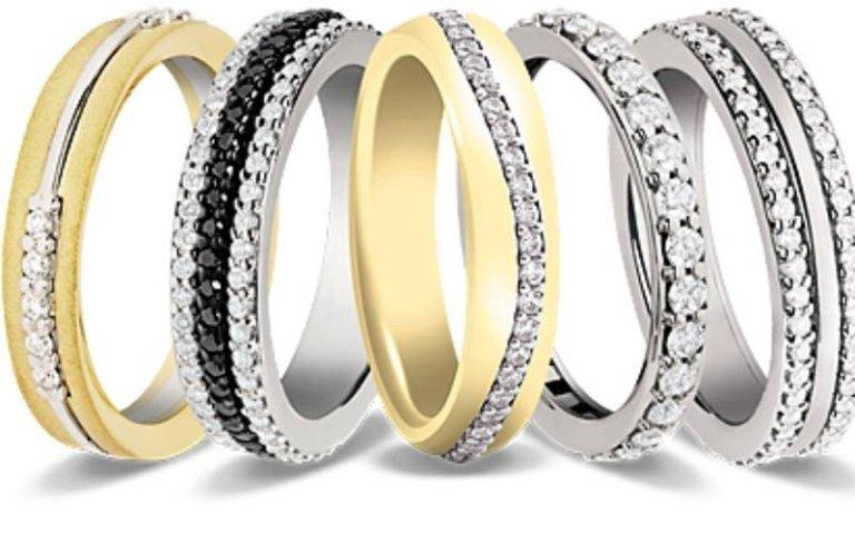 Anelli in oro e argento Breil