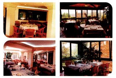 diverse aree del ristorante