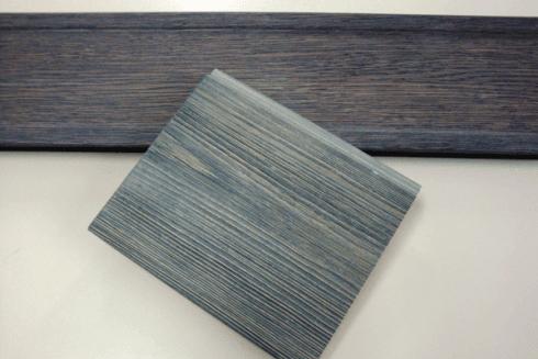 Conrice verniciata in larice grigio