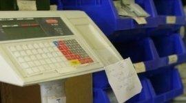 registratore di cassa digitale, misuratori fiscali, forniture per negozi