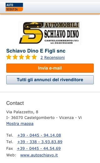 http://concessionari.autoscout24.it/schiavo-dino-e-figli-snc/veicoli?ipc=dealerinfo-home|stocklist&ipl=ourcars#atype=C&cid=8363392&ustate=U,N,A&sort=price&results=20&page=1