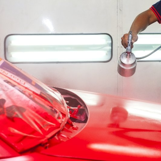 Car painting services