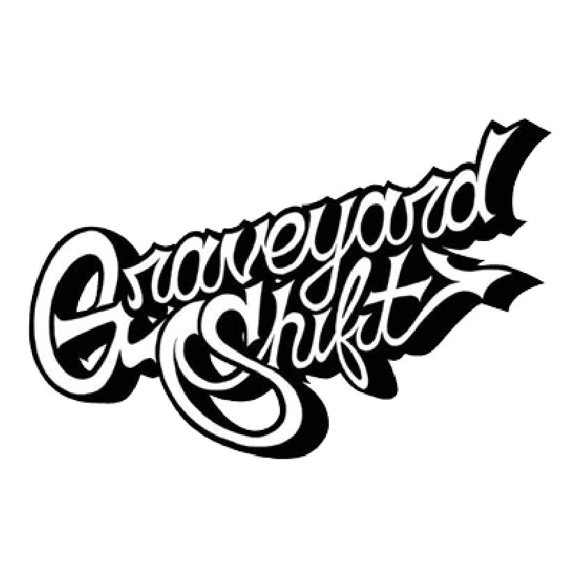 Graveyard Shift Stencil