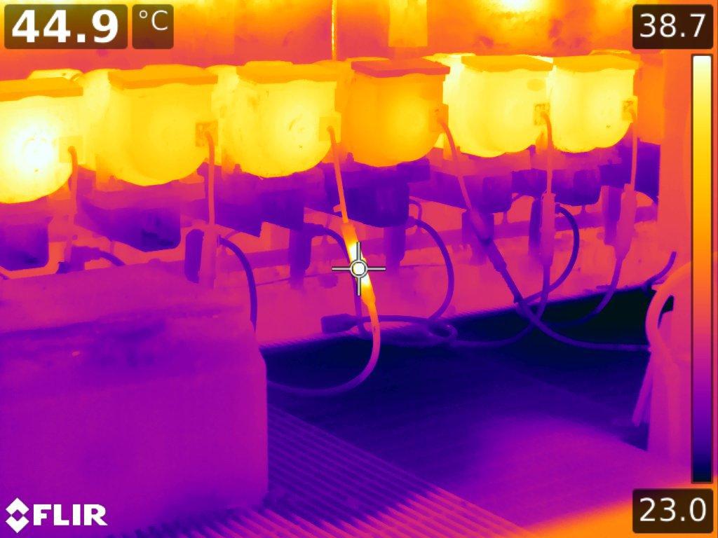 analisi termografica ad infrarossi