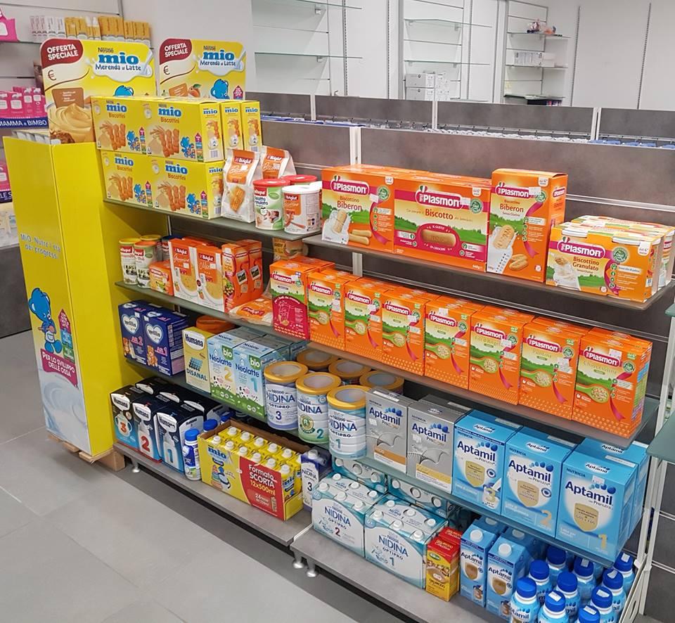assortimento di alimenti per neonati