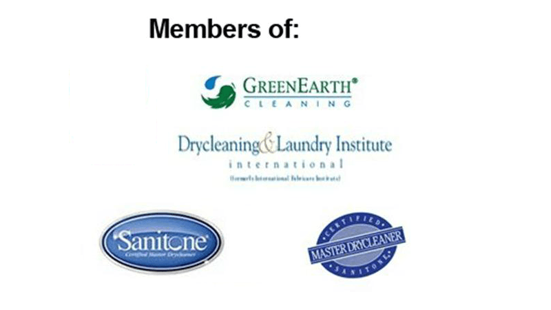 members of greanearth and sanitone logos