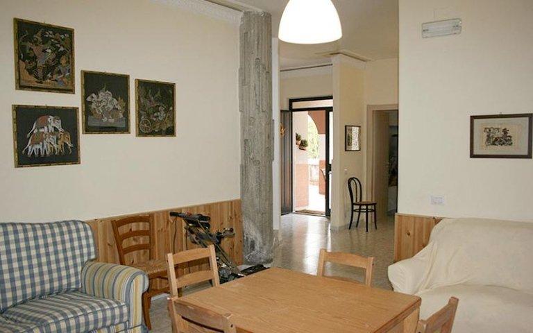 Sala pranzo casa famiglia villa sorriso catania