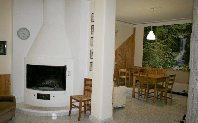 Sala comune casa famiglia villa sorriso catania