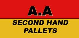 a a secondhand pallets logo