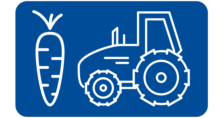agricultural and rural supplies icon button