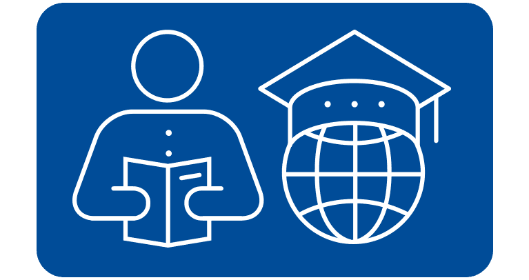 education and training icon button