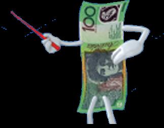 one hundred dollar bill character