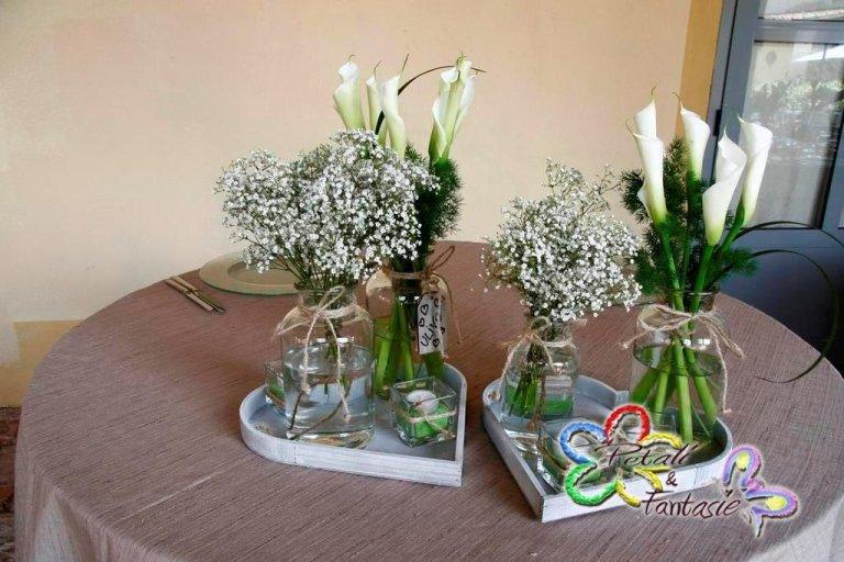 segnaposto floreali