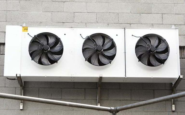 Ventilazione impianti di refrigerazione