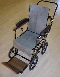 1930s folding chair