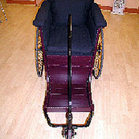Leveson & Sons bath chair after restoration