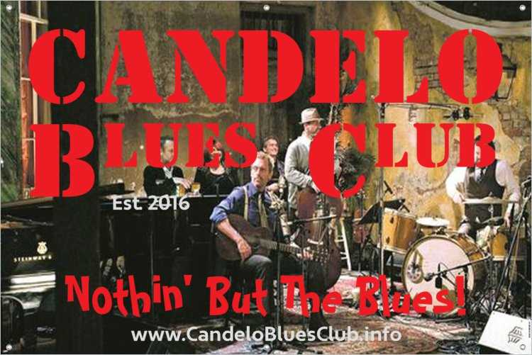 Candelo Blues Club - Jesse Valach, Charlie Bedford & The Illegal