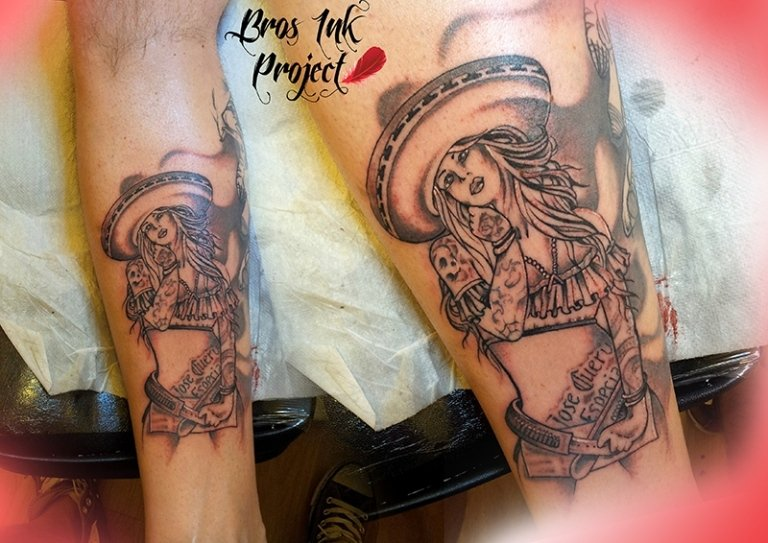 tattoo mexican girl