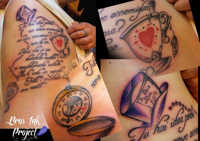 tattoo alice nel paese delle meraviglie