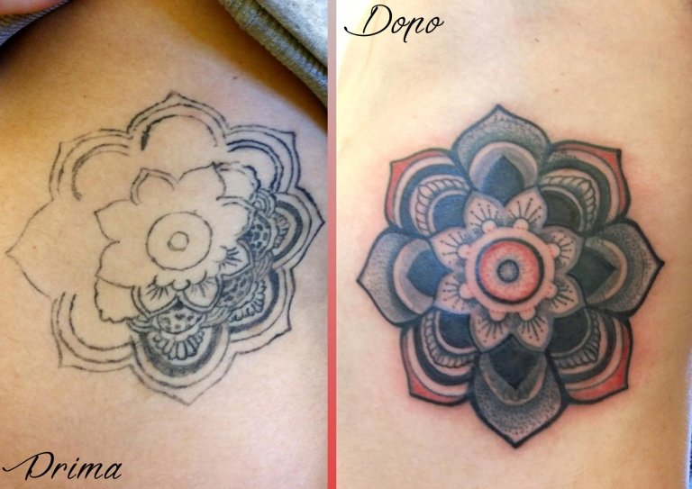 cover up mandala