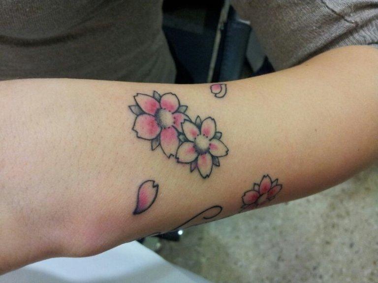 tatuaggio fiore