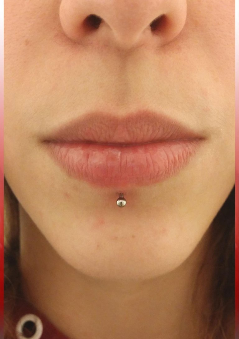 piercing labbro