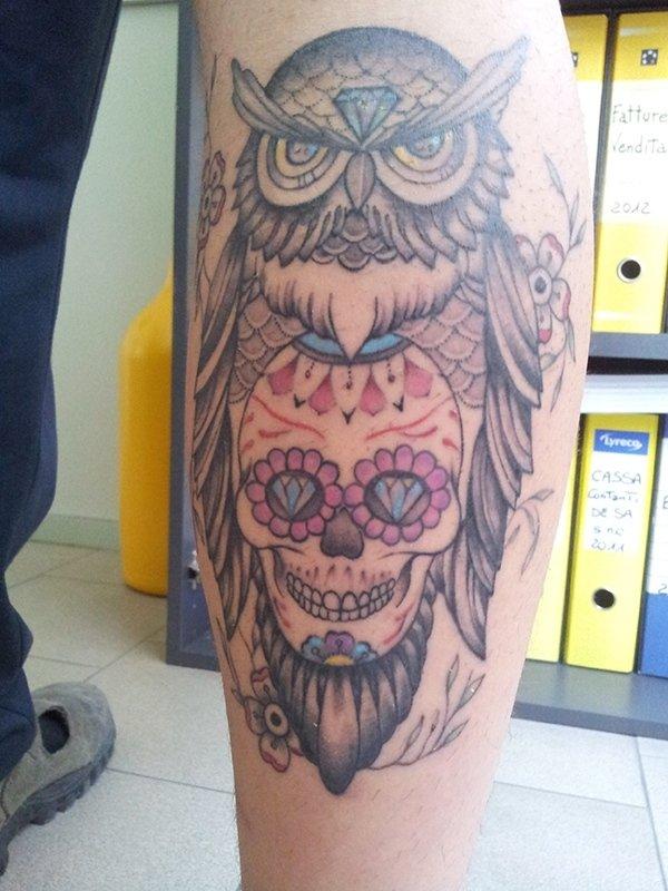tattoo gufo