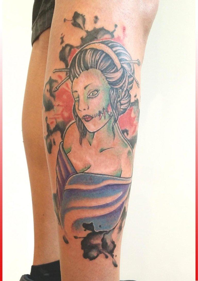 tatuaggi giapponesi geisha