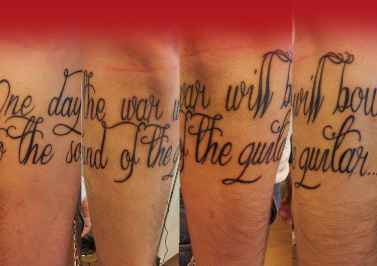 tatuaggio frase