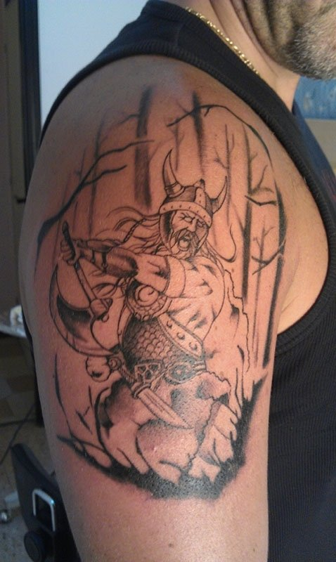 tattoo warrior