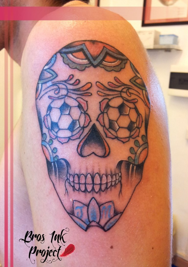 tattoo teschio