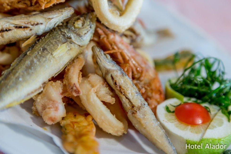 Frittura di pesce Budoni