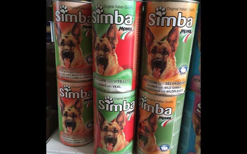 alimenti per cani simba