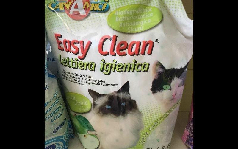 Lettiera igienica gatti