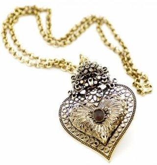 collana cuore sacro