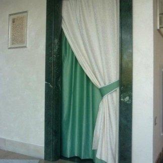 riquadratura porta