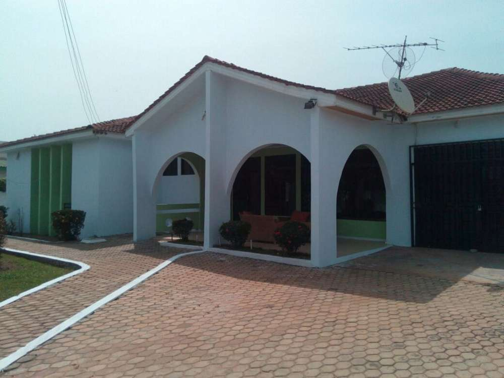 outside villa