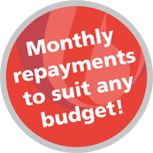 monthly payments to suit any budget