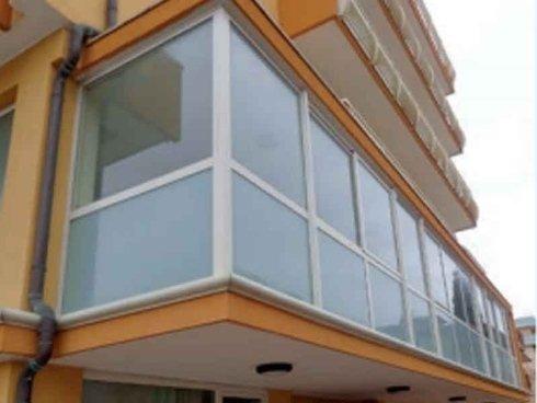 'verande su balconi