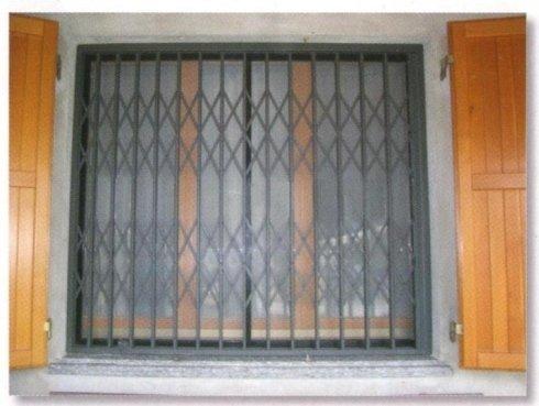 inferriate di sicurezza per finestre