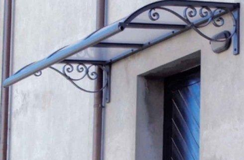 tettoia porta