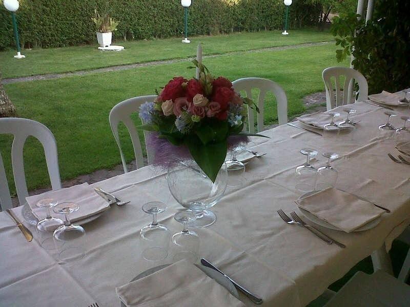 Veranda per pranzi di Matrimonio all