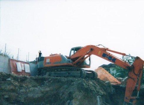 Lavori stradali, scavi stradali, scavi fognari
