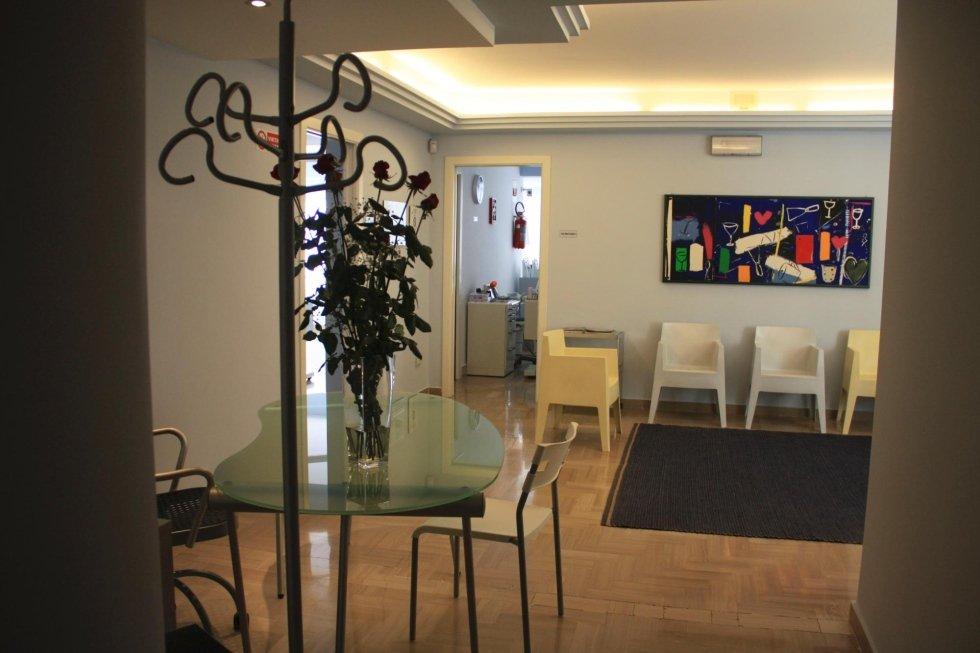 La reception dello studio